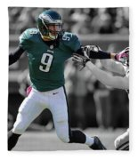 Nick Foles Eagles Super Bowl 2 Fleece Blanket