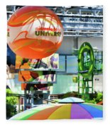 Nickelodeon Universe Indoor Amusement Park Fleece Blanket
