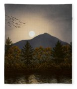 Night Calls Fleece Blanket