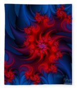 Night Fire Fleece Blanket