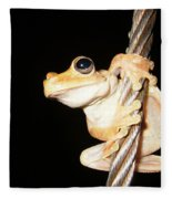 Night Frog Fleece Blanket
