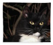 Night Hunter Fleece Blanket