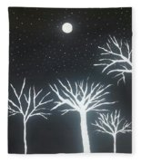 Night Of Lights Fleece Blanket