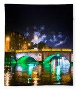 Night Smoke Fleece Blanket