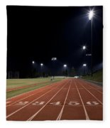 Night Time Run Fleece Blanket