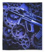Night Watch Gears Fleece Blanket