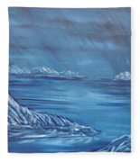 Night World Fleece Blanket