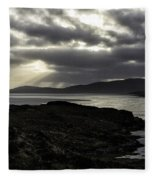 Nightfall Isle Of Harris Fleece Blanket