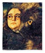 Nightshade And The Stumbling Aspirant Fleece Blanket