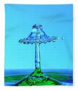 Nightshade Water Droplet Fleece Blanket