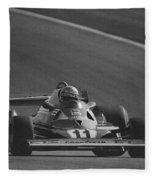Niki Lauda. 1977 French Grand Prix Fleece Blanket