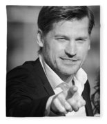 Nikolaj Coster-waldau 6 Fleece Blanket