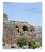 Nimrod Fortress National Park  Fleece Blanket