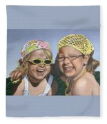 Nina And Francis Fleece Blanket
