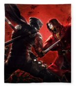 Ninja Gaiden 3 Fleece Blanket