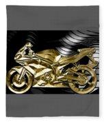 Ninja Motorcycle Collection Fleece Blanket