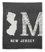 Nj Home Fleece Blanket