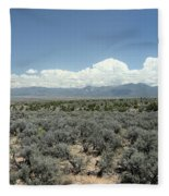 New Mexico Landscape 3 Fleece Blanket