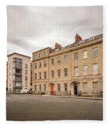 No 18-21 Portland Square Bristol England A Fleece Blanket