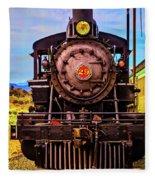 No 29 Virgina Truckee Train Fleece Blanket