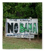 No Bama Fleece Blanket