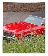 No Hiding Place - Monte Carlo Ss 1970 Fleece Blanket
