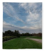 Pathway To The Sky Fleece Blanket