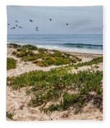 Carpinteria State Beach Fleece Blanket
