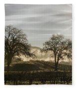 Wine Country Sunrise Fleece Blanket