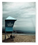 Santa Barbara Life Guard Fleece Blanket