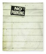 No Parking Fleece Blanket