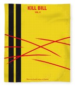 No049 My Kill Bill-part2 Minimal Movie Poster Fleece Blanket