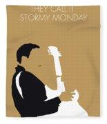 No070 My Tbone Walker Minimal Music Poster Fleece Blanket