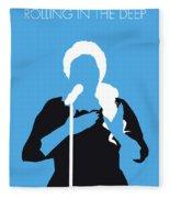 No099 My Adele Minimal Music Poster Fleece Blanket