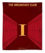 No309 My The Breakfast Club Minimal Movie Poster Fleece Blanket