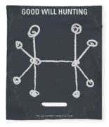 No461 My Good Will Hunting Minimal Movie Poster Fleece Blanket