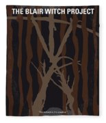 No476 My The Blair Witch Project Minimal Movie Poster Fleece Blanket