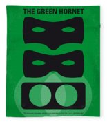 No561 My The Green Hornet Minimal Movie Poster Fleece Blanket