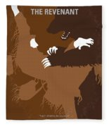 No623 My The Revenant Minimal Movie Poster Fleece Blanket