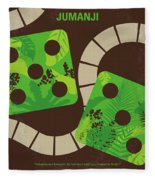 No653 My Jumanji Minimal Movie Poster Fleece Blanket