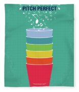 No660 My Pitch Perfect Minimal Movie Poster Fleece Blanket
