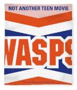 No667 My Not Another Teen Minimal Movie Poster Fleece Blanket