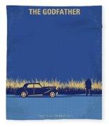 No686-1 My Godfather I Minimal Movie Poster Fleece Blanket