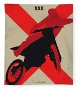 No728 My Xxx Minimal Movie Poster Fleece Blanket