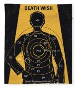 No740 My Death Wish Minimal Movie Poster Fleece Blanket