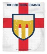 No741 My Grimsby Minimal Movie Poster Fleece Blanket