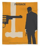 No854 My Payback Minimal Movie Poster Fleece Blanket