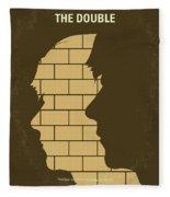 No936 My The Double Minimal Movie Poster Fleece Blanket