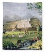 Noahs Ark Fleece Blanket
