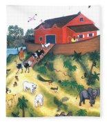 Noah's Ark One Fleece Blanket